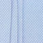 Jacquard fabric with rhombs - blue