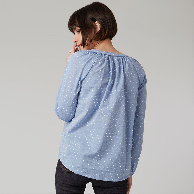 Women sewing pattern tunic Estelle