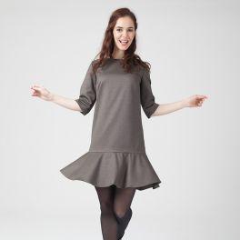 Women sewing pattern dress Alexandra