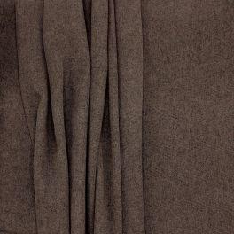 Tissu grande largeur polyester brun