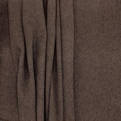 Polyester fabric with wide width - brown