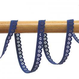 Elastique lingerie plat 13mm marine