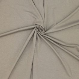 Viscose jersey fabric - taupe