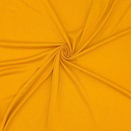 Viscose jersey fabric - mosterd yellow