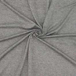 Viscose jersey fabric - mottled grey