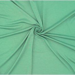 Viscose jersey fabric - green