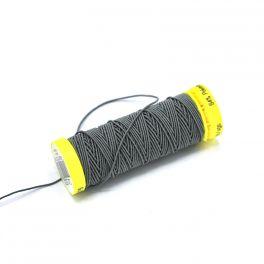 elastische naaigaren 0.5mm - grijs