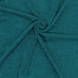 Tissu maille jaspée canard