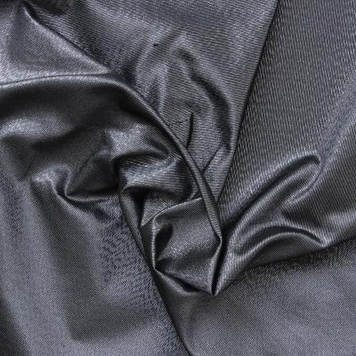 Taffetas changeant métal gris mauve