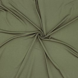 Katoen jerseystof - groen