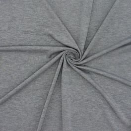 Cotton jersey fabric - grey