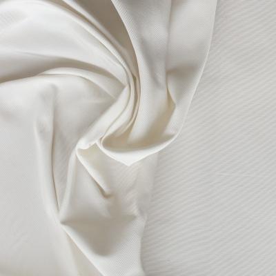 Faille de soie unie blanc