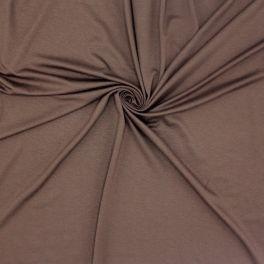 Viscose jersey fabric - brown