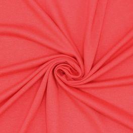 Tissu jersey corail