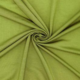 Tissu jersey vert