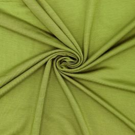 Viscose jersey fabric - green