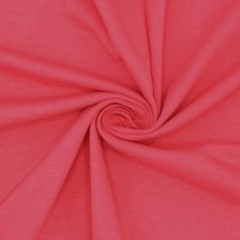Cotton jersey fabric - pink