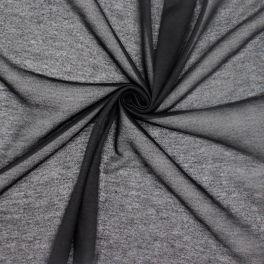 Polyester jerseystof - zwart