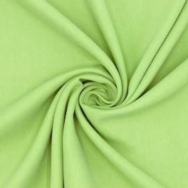 Tissu en Tencel aspect soie lavée vert
