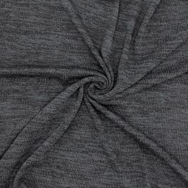 Knit fabric - mottled grey