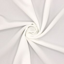 Kledingstof in polyester - wit