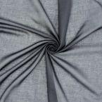 Voile de coton gris