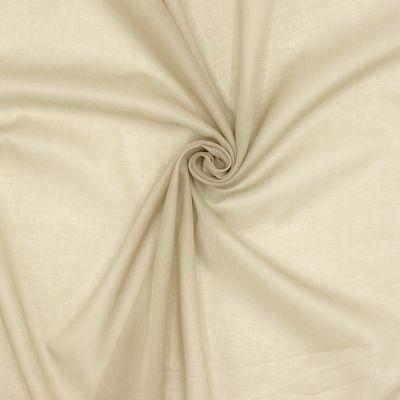 Voile de coton beige