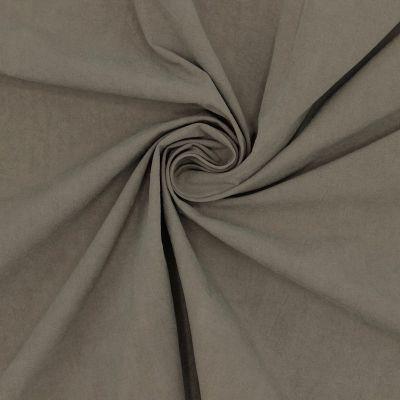 Tissu en 100%coton brun