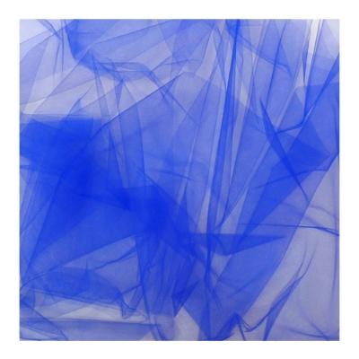 Blauwe tule