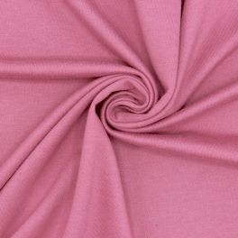 Light french terry sweatshirt fabric - pink