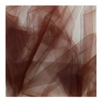 Brown tulle