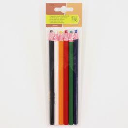 crayon craie taille facile 6 pièces