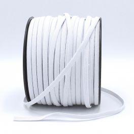 Elastique blanc de  7 mm