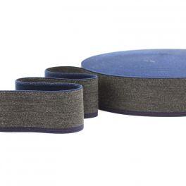 Ceinture élastique jeans et anthracite