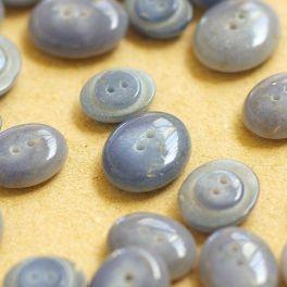 fantasy resin button - grey
