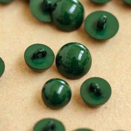 Boutons en résine vert anglais