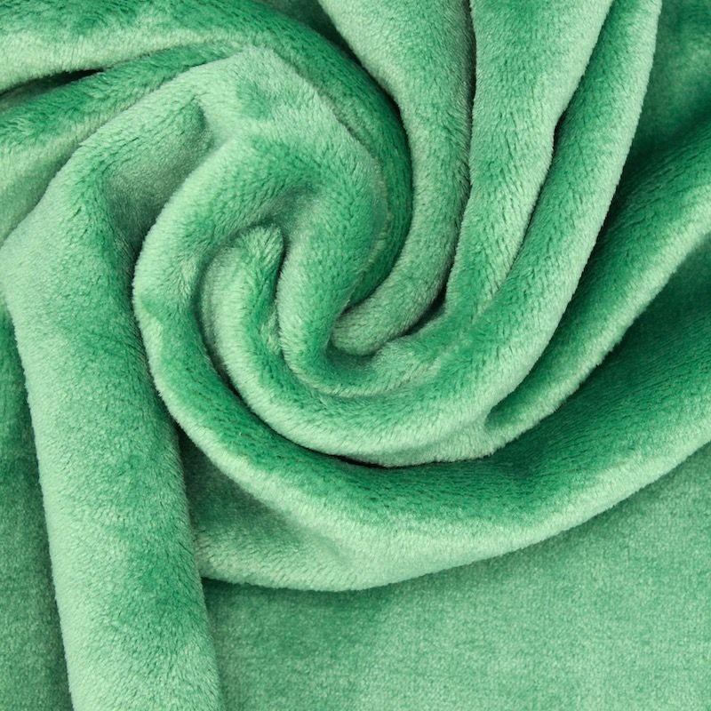 Minky velvet - moss-green