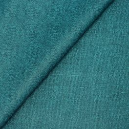 Coated cotton fabric - semi-plain petroleum