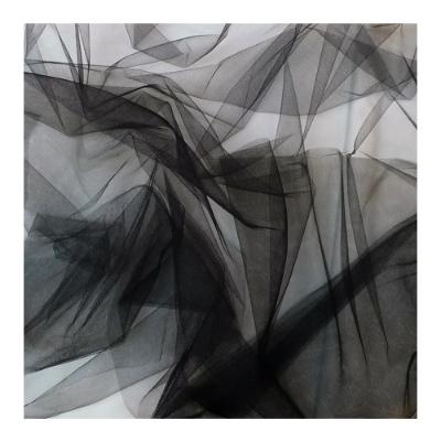 Zwarte tulle