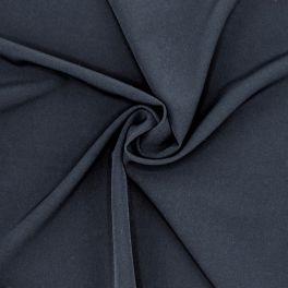 Tissu vestimentaire extensible bleu nuit