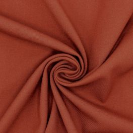 Extensible twill fabric - rust