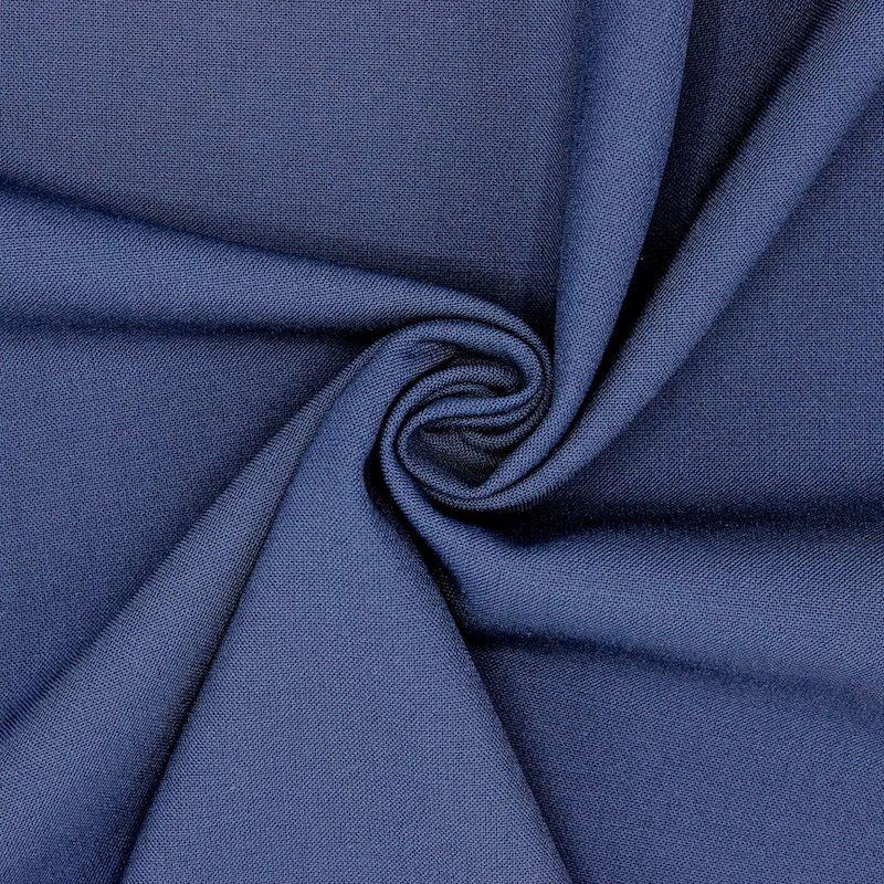 Tissu vestimentaire bleu marine
