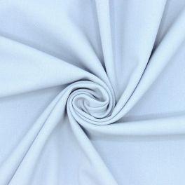 Rekbare kledingstof - blauw gesmoord