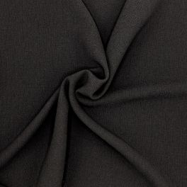 Extensible embossed fabric - black