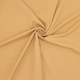Extensible twill fabric - coffee with milk