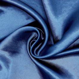 Satin - navy blue