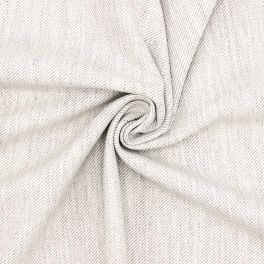 Extensible twill fabric wool aspect - grey