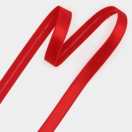 Elastiek met coating 12mm  - rood