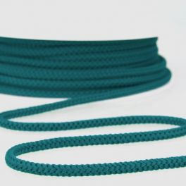 Knitted cord -  teal