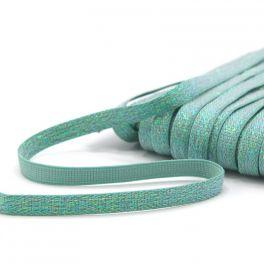 Lurex elastiek 10mm - groen